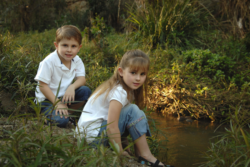 outdoor kids portraits