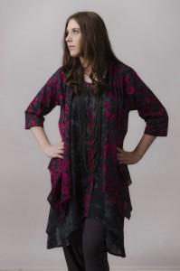 fashion portrait for online catalog